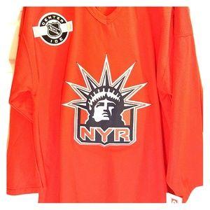 NY Rangers Vintage CCM Bud Light Liberty Jersey XL